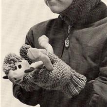 Kids Knitted Mittens Pattern
