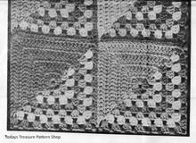 Crochet Afghan Blocks Illustration
