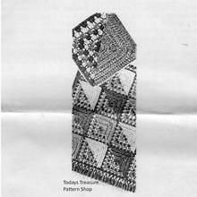 Colorful Geometric Crochet Afghan Pattern