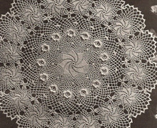 Crocheted Rose of Erin Pinwheel Doily Pattern