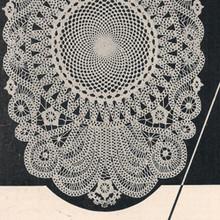 Vintage Battenberg Lace Crochet Doily Pattern