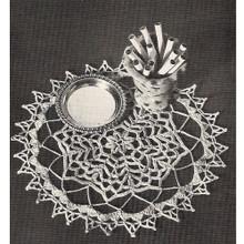 Coats & Clark's Forest Pool Crochet Doily Pattern