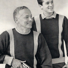 Columbia Minerva Mens Knitted Pullovers Pattern