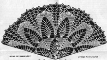 Small Doily Crochet Pattern Stitch Illustration, Mail Order 713