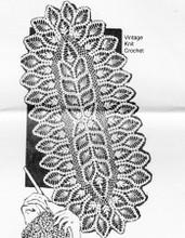 Mail Order Crochet Pineapple Scarf Pattern, Design 786