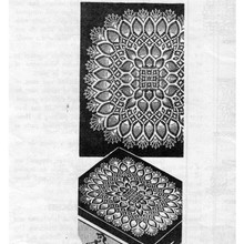 Square Pineapple Crocheted Cloth Pattern