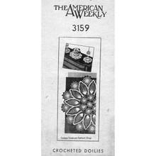 Vintage Mail Order Doily Crochet Pattern No 3119