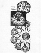 Crocheted Mail Order Doilies, Laura Wheeler 735