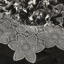 Crocheted Pineapple Tablecloth Pattern