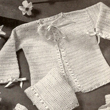 American Thread Crocheted Layette Pattern