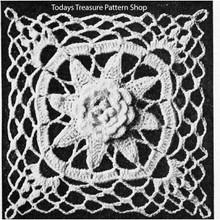 Louisiana Bayou Crochet Square Pattern