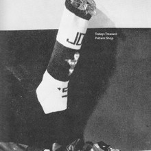 Knitted Christmas Stocking Pattern with Alphabet