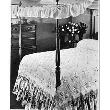 Petal Block Bedspread Knitting Pattern