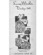 Old Fashioned Girl Filet Crochet Pattern, Mail Order 540