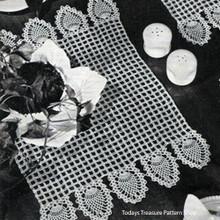 Detail of Crochet Honeycomb Patterns Pattern