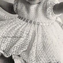 Baby Lace Dress Crochet Pattern