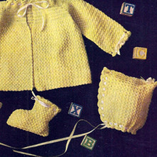 Crocheted Baby Layette Pattern