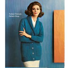 Long Coachman Knitted Coat Pattern