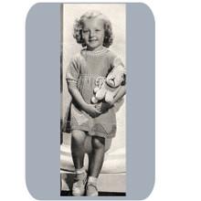 Crocheted Shirley Temple Dress Pattern