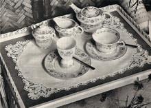 Vintage Crochet Edging Pattern for Linen Mats