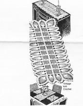 Pineapple Placemats Crochet Pattern, Laura Wheeler 718