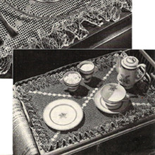 Vintage Ruffled Placemats Crochet Pattern