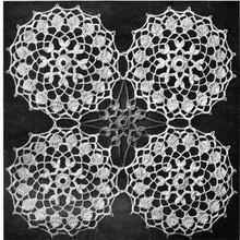 Dance of the Flowers Crochet Medallion Pattern