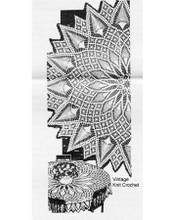 Round Pineapple Tablecloth Crochet Pattern, Laura Wheeler 675