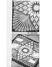 "Crochet Pineapple Cloth Pattern, 58"" square, Laura Wheeler 754"