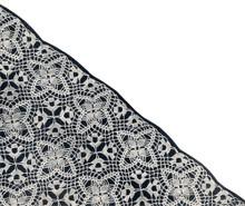 Lady Bountiful Crochet Medallion Illustration
