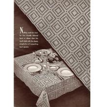 Cambridge Crochet Tablecloth Pattern