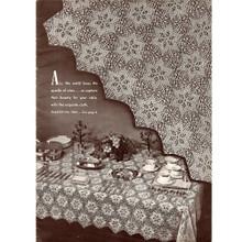 Crochet Star Medallion Tablecloth, Raleigh