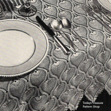 Crochet Pineapple Tablecloth Pattern
