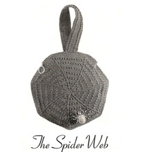 Spiderweb Crochet Wristlet Bag Pattern