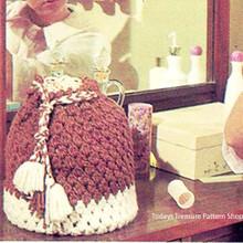 Crochet Drawstring Utility Bag Pattern in Puff Stitch