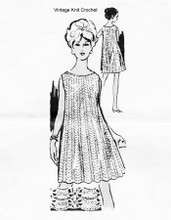 Summer Dress Crochet Pattern, Laura Wheeler 736
