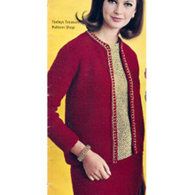 Crochet Three Piece Suit Pattern