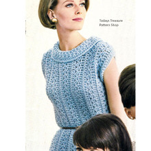 Sleeveless Crocheted Dress Pattern