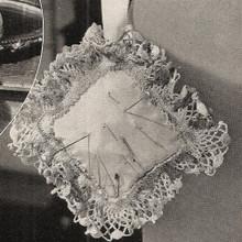 Vintage Crochet Pincushion Pattern
