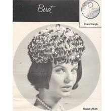 Crochet Bangle Beret Pattern