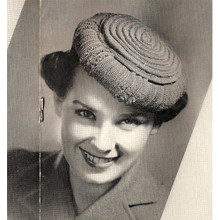 Vintage Crochet Pillbox Pattern with Rounded Sides