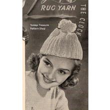 Pompom Crochet Beanie Hat Pattern