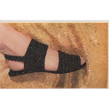 Crocheted Sandals Pattern, Vintage 1960s