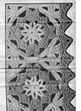 Crochet Block Vest Illustration