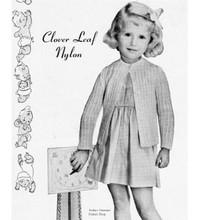 Toddler Cardigan Knitting Pattern, Size 2
