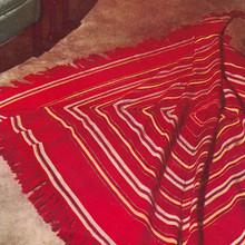 Vintage Crochet Square Shawl Pattern