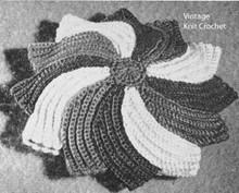 Crochet Bean Bag Pattern in Five Colors Pearl Cotton