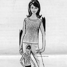 Shell Knitting Pattern, Design 7151