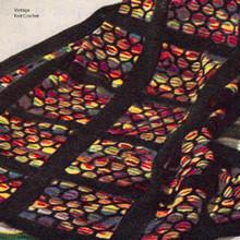 Vintage Northern Lights Knitted Afghan Pattern