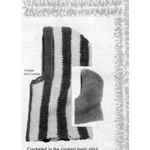Striped Helmet Crochet Pattern
